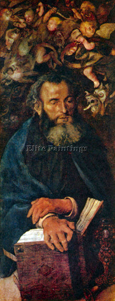DURER ST ANTHONY ARTIST PAINTING REPRODUCTION HANDMADE OIL CANVAS REPRO WALL ART