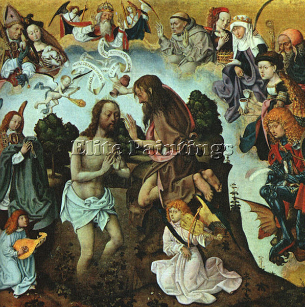 DUTCH ST BARTHOLOMEW ALTARPIECE MASTER DUTCH ACTIVE APPROX 1470 1510 1 PAINTING