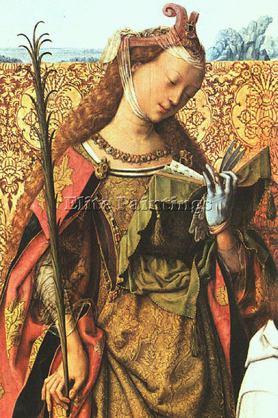 DUTCH ST BARTHOLOMEW ALTARPIECE MASTER DUTCH ACTIVE APPROX 1470 1510 OIL CANVAS