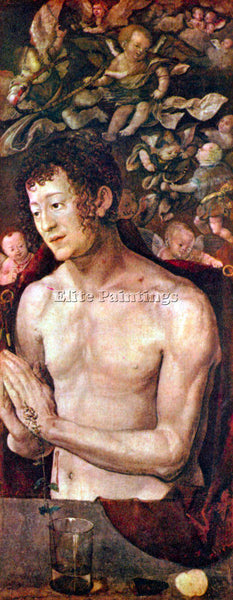 DURER ST SEBASTIAN ARTIST PAINTING REPRODUCTION HANDMADE CANVAS REPRO WALL DECO
