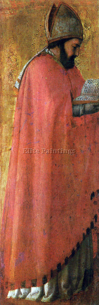 MASACCIO ST AUGUSTINE ARTIST PAINTING REPRODUCTION HANDMADE OIL CANVAS REPRO ART