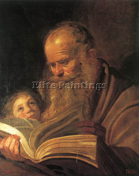 FRANS HALS ST MATTHEW ARTIST PAINTING REPRODUCTION HANDMADE OIL CANVAS REPRO ART
