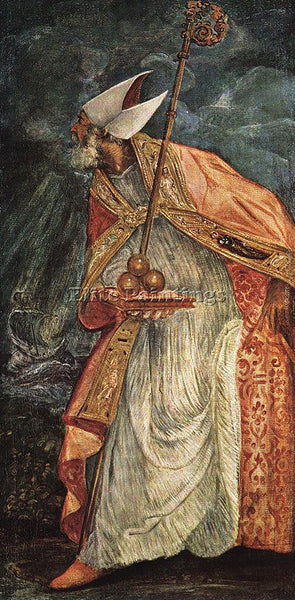 JACOPO ROBUSTI TINTORETTO ST NICHOLAS ARTIST PAINTING REPRODUCTION HANDMADE OIL