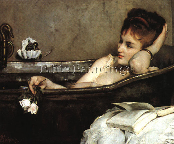 FLEMISH STEVENS ALFRED FLEMISH 1823 1906 1 ARTIST PAINTING REPRODUCTION HANDMADE