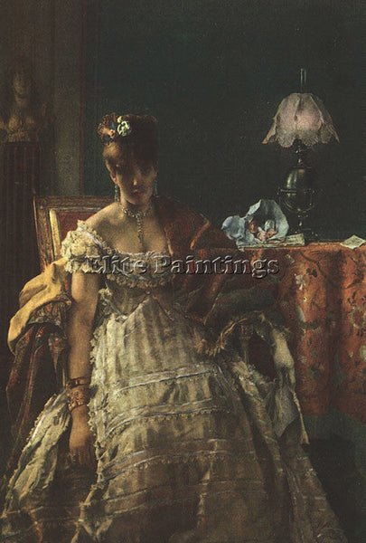 FLEMISH STEVENS ALFRED FLEMISH 1823 1906 ARTIST PAINTING REPRODUCTION HANDMADE