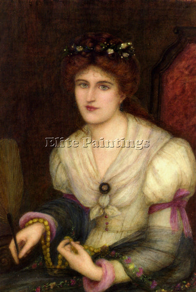 MARIA SPARTALI STILLMAN SPARTALI SELF PORTRAIT ARTIST PAINTING REPRODUCTION OIL