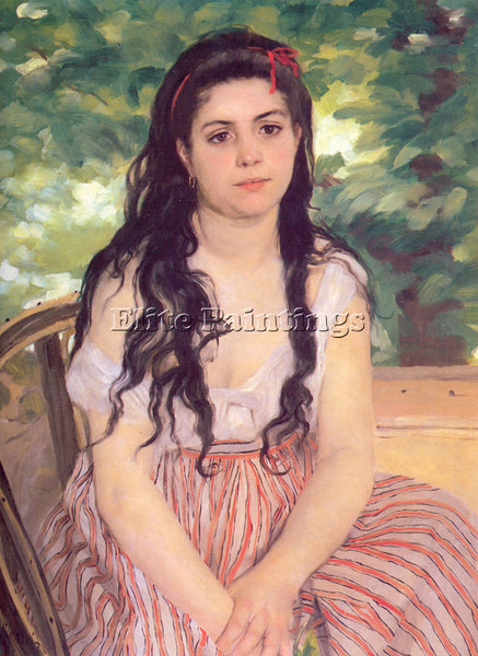 PIERRE AUGUSTE RENOIR STUDY SUMMER ARTIST PAINTING REPRODUCTION HANDMADE OIL ART