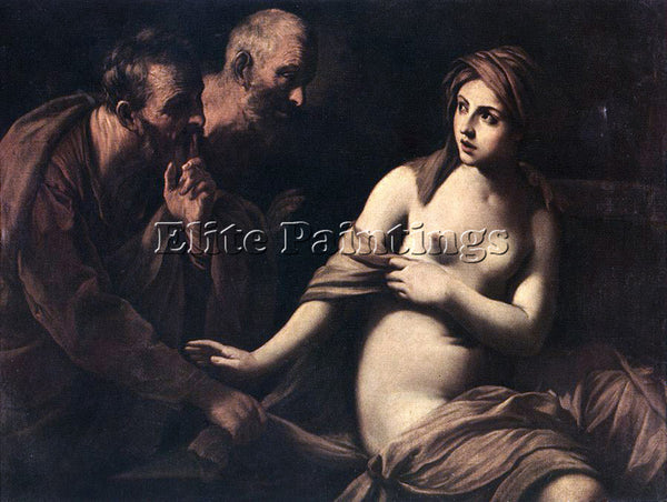 GUIDO RENI SUSANNA AND THE ELDERS 1 ARTIST PAINTING REPRODUCTION HANDMADE OIL