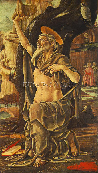 TURA COSME SAINT JEROME ARTIST PAINTING REPRODUCTION HANDMADE CANVAS REPRO WALL