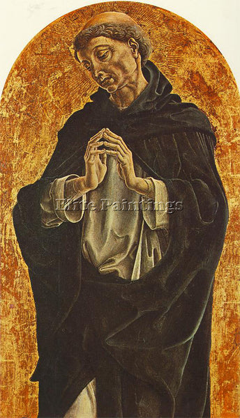 TURA COSME ST DOMINIC ARTIST PAINTING REPRODUCTION HANDMADE OIL CANVAS REPRO ART