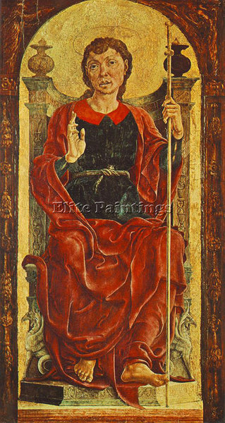 TURA COSME ST JAMES THE GREAT ARTIST PAINTING REPRODUCTION HANDMADE CANVAS REPRO