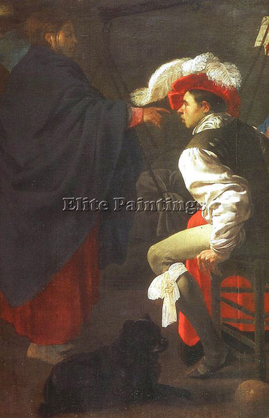DUTCH TERBRUGGHEN HENDRICK DUTCH 1588 1629 1 ARTIST PAINTING HANDMADE OIL CANVAS