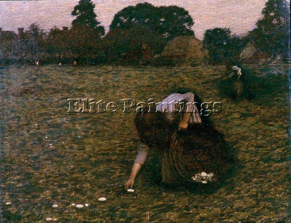 HENRY HERBERT LA THANGUE LA DAWN ARTIST PAINTING REPRODUCTION HANDMADE OIL REPRO