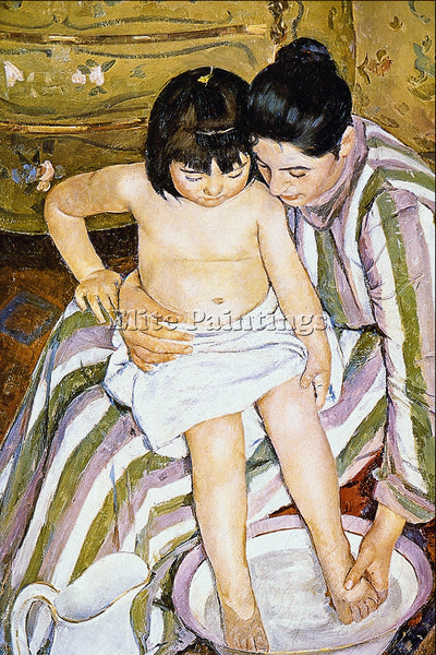 RENOIR THE BATH 2 ARTIST PAINTING REPRODUCTION HANDMADE CANVAS REPRO WALL DECO