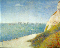 SEURAT THE BEACH ARTIST PAINTING REPRODUCTION HANDMADE OIL CANVAS REPRO WALL ART
