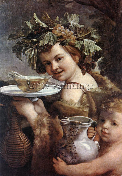 GUIDO RENI THE BOY BACCHUS 1 ARTIST PAINTING REPRODUCTION HANDMADE CANVAS REPRO