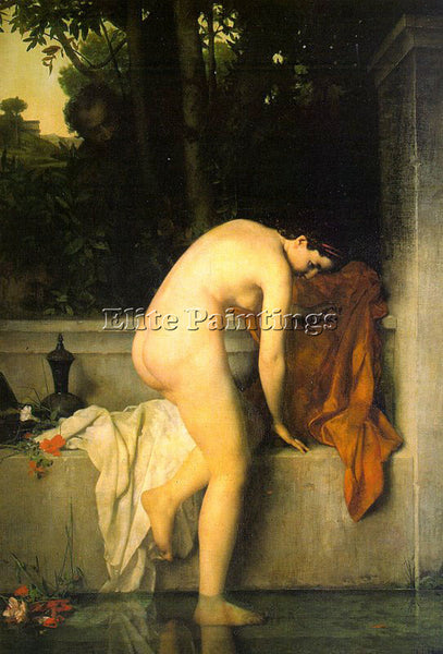 JEAN-JACQUES HENNER THE CHASTE SUSANNAH ARTIST PAINTING REPRODUCTION HANDMADE