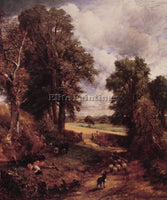 JOHN CONSTABLE THE CORNFIELD ARTIST PAINTING REPRODUCTION HANDMADE CANVAS REPRO