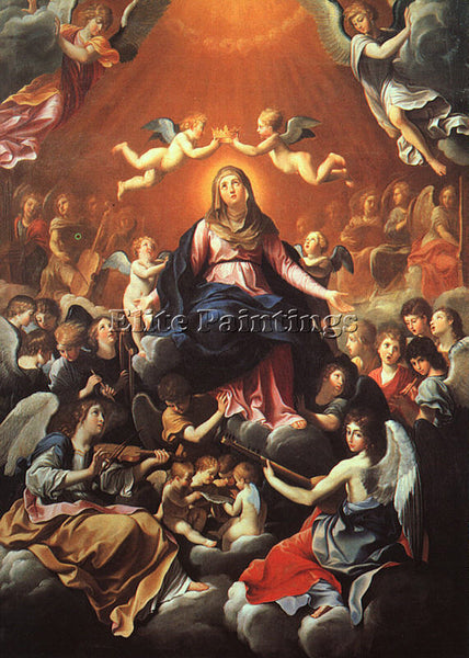 GUIDO RENI THE CORONATION OF THE VIRGIN 1 ARTIST PAINTING REPRODUCTION HANDMADE