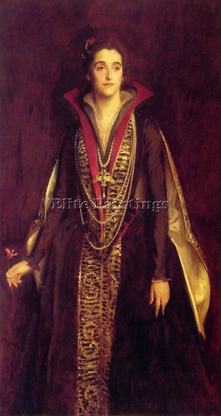 JOHN SINGER SARGENT THE COUNTESS OF ROCKSAVAGE ARTIST PAINTING REPRODUCTION OIL