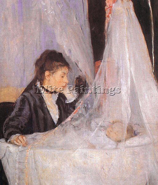 BERTHE MORISOT THE CRADLE ARTIST PAINTING REPRODUCTION HANDMADE OIL CANVAS REPRO