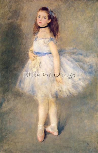 PIERRE AUGUSTE RENOIR THE DANCER ARTIST PAINTING REPRODUCTION HANDMADE OIL REPRO