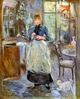 MORISOT THE DINING ROOM ARTIST PAINTING REPRODUCTION HANDMADE CANVAS REPRO WALL