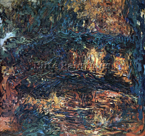 MONET THE JAPANESE BRIDGE 2 ARTIST PAINTING REPRODUCTION HANDMADE OIL CANVAS ART