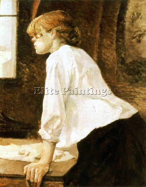 TOULOUSE-LAUTREC THE LAUNDRESS 2 ARTIST PAINTING REPRODUCTION HANDMADE OIL REPRO