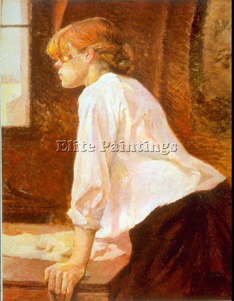 TOULOUSE-LAUTREC THE LAUNDRESS ARTIST PAINTING REPRODUCTION HANDMADE OIL CANVAS