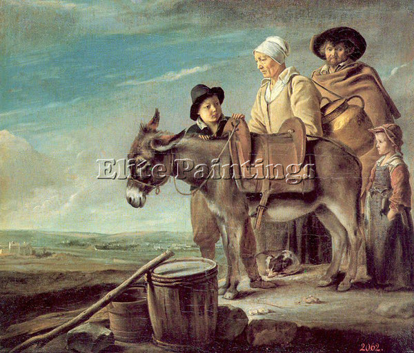 THE LE NAIN BROTHERS THE BROTHERS 11 ARTIST PAINTING REPRODUCTION HANDMADE OIL