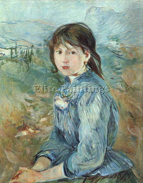 BERTHE MORISOT THE LITTLE GIRL FROM NICE ARTIST PAINTING REPRODUCTION HANDMADE