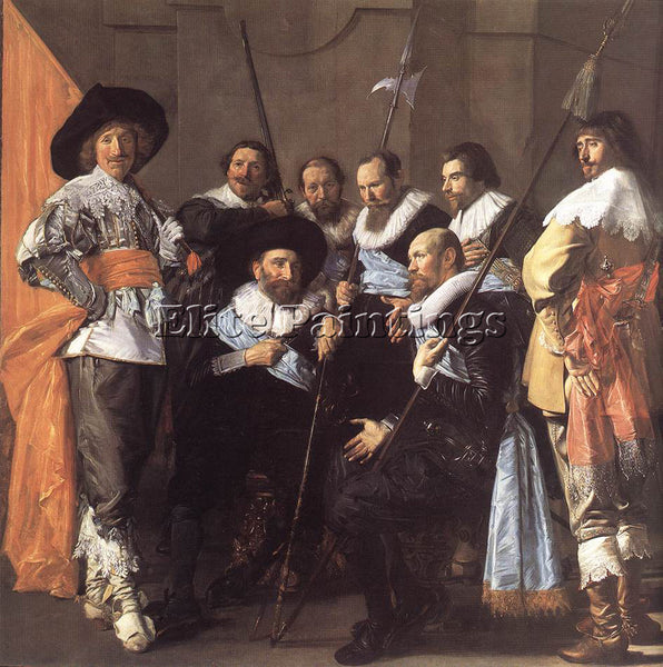 FRANS HALS THE MEAGRE COMPANY DETAIL ARTIST PAINTING REPRODUCTION HANDMADE OIL