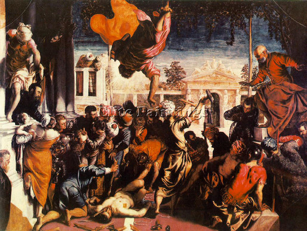 JACOPO ROBUSTI TINTORETTO THE MIRACLE OF ST MARK FREEING THE SLAVE REPRODUCTION