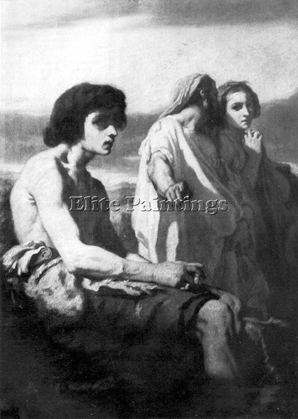 THOMAS COUTURE THE PRODIGAL SON ARTIST PAINTING REPRODUCTION HANDMADE OIL CANVAS