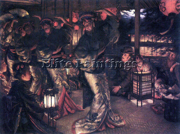 TISSOT THE PRODIGAL SON IN MODERN LIFE IN FOREIGN COUNTRIES ARTIST PAINTING OIL