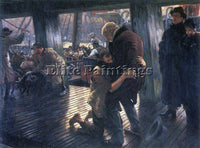 TISSOT THE PRODIGAL SON IN MODERN LIFE THE RETURN ARTIST PAINTING REPRODUCTION