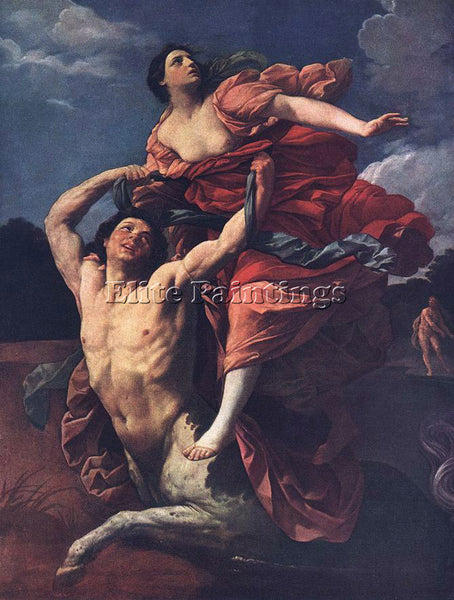 GUIDO RENI THE RAPE OF DEJANIRA 1 ARTIST PAINTING REPRODUCTION HANDMADE OIL DECO