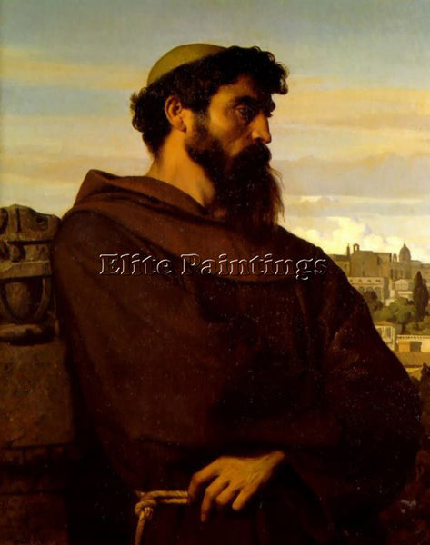 ALEXANDRE CABANEL THE ROMAN MONK ARTIST PAINTING REPRODUCTION HANDMADE OIL REPRO