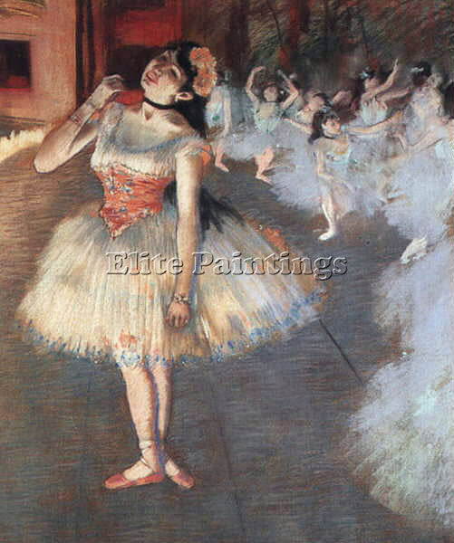 EDGAR DEGAS THE STAR ARTIST PAINTING REPRODUCTION HANDMADE OIL CANVAS REPRO WALL