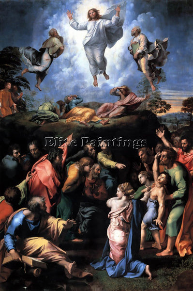 RAPHAEL THE TRANSFIGURATION ARTIST PAINTING REPRODUCTION HANDMADE OIL CANVAS ART