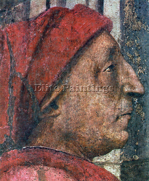 MASACCIO THE TRINITY DETAIL 5  ARTIST PAINTING REPRODUCTION HANDMADE OIL CANVAS