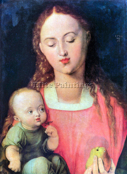 DURER THE VIRGIN AND CHILD 1  ARTIST PAINTING REPRODUCTION HANDMADE CANVAS REPRO