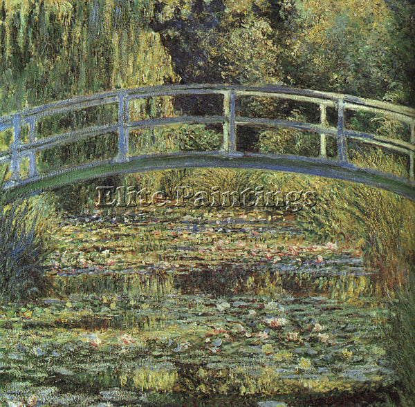 CLAUDE MONET WATERLILY POND ARTIST PAINTING REPRODUCTION HANDMADE OIL CANVAS ART