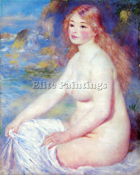 RENOIR THE BLOND BATHER 1 ARTIST PAINTING REPRODUCTION HANDMADE OIL CANVAS REPRO