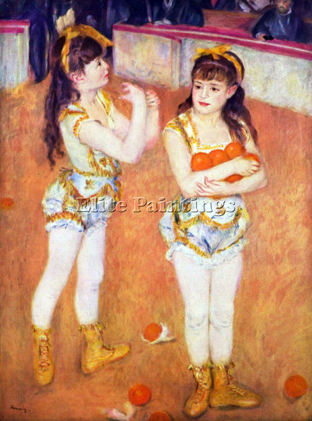 RENOIR THE CIRCUS FERNANDO ARTIST PAINTING REPRODUCTION HANDMADE OIL CANVAS DECO
