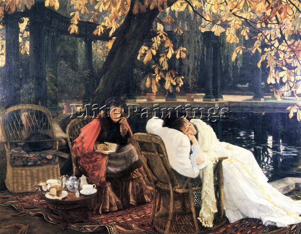 TISSOT THE END ARTIST PAINTING REPRODUCTION HANDMADE OIL CANVAS REPRO WALL  DECO