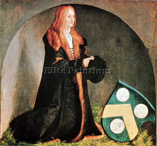 DURER THE FOUNDER JACOB HELLER ARTIST PAINTING REPRODUCTION HANDMADE OIL CANVAS