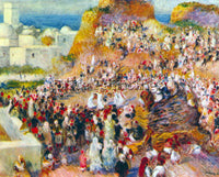 RENOIR THE MOSQUE ARABIAN FEST  ARTIST PAINTING REPRODUCTION HANDMADE OIL CANVAS