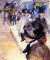 RENOIR THE PLACE CLICHY ARTIST PAINTING REPRODUCTION HANDMADE CANVAS REPRO WALL